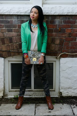 Style-with-Amanda-Green-HM-Blazer-Army-Green-Pants