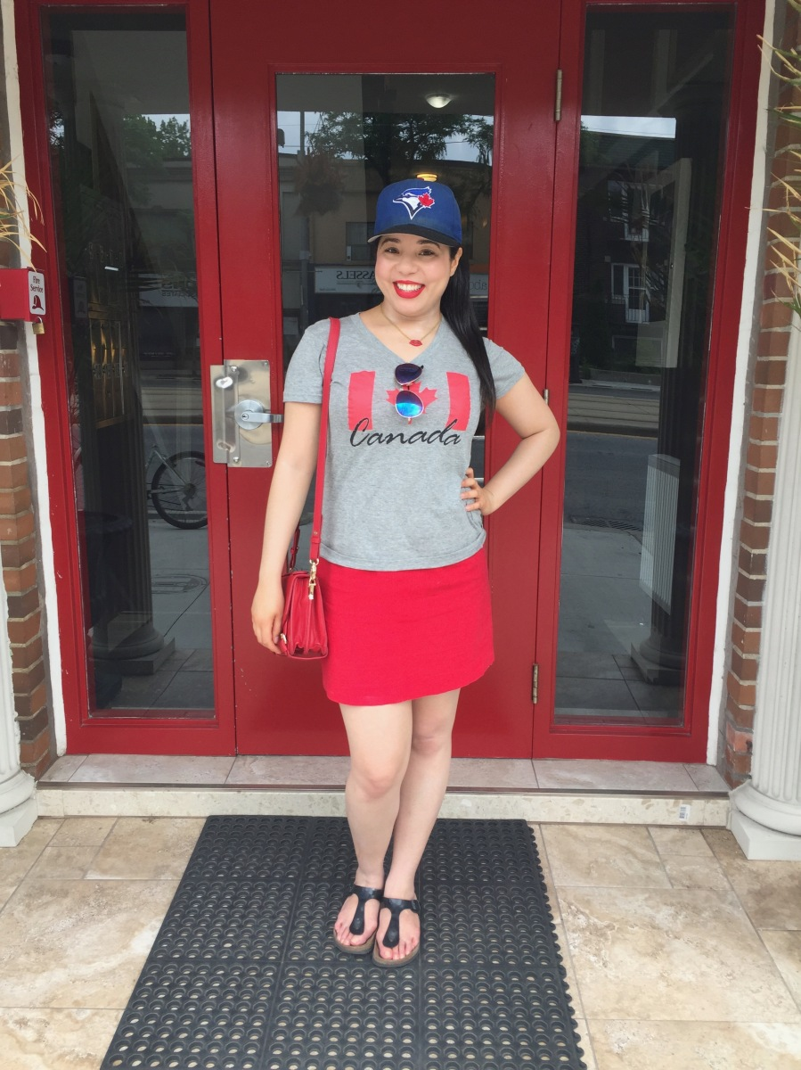 My Canada Day 150 Outfit