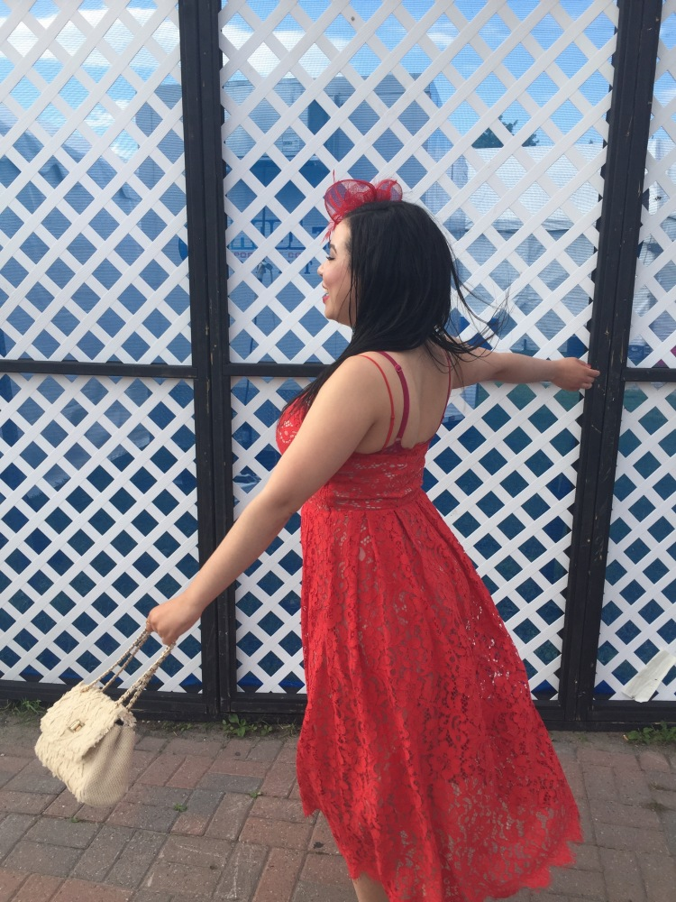 Style-with-Amanda-Red-Lace-HM-Dress-Cream-Quilted-Bag-Le-Chateau-Birkenstocks-Sephora-Red-Cream-Lip-Stain-Red-Nail-Polish-17