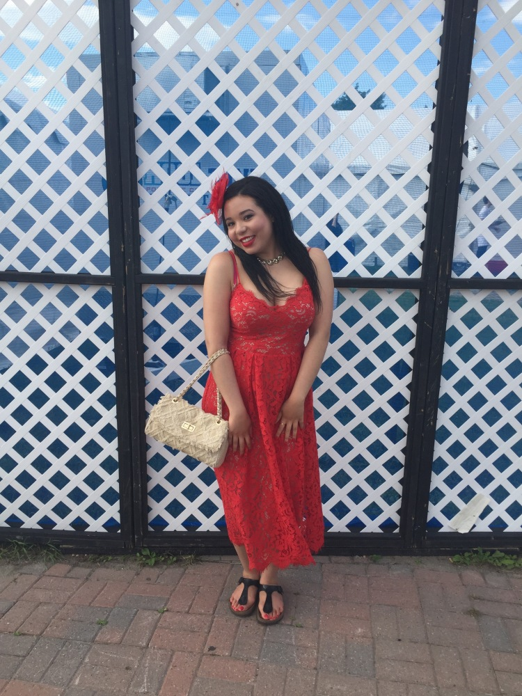 Style-with-Amanda-Red-Lace-HM-Dress-Cream-Quilted-Bag-Le-Chateau-Birkenstocks-Sephora-Red-Cream-Lip-Stain-Red-Nail-Polish-22