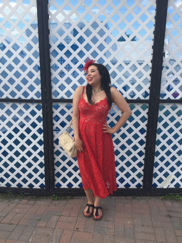 Style-with-Amanda-Red-Lace-HM-Dress-Cream-Quilted-Bag-Le-Chateau-Birkenstocks-Sephora-Red-Cream-Lip-Stain-Red-Nail-Polish-24
